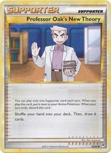 Pokemon Call of Legends Single Card Uncommon #83 Professor Oak's New Theory