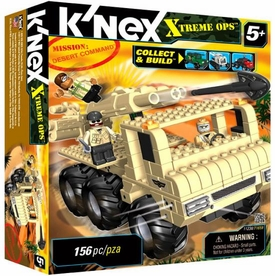 K'NEX Xtreme Ops Mission Set #11238 Desert Command