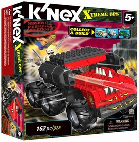 K'NEX Xtreme Ops Mission Set #11239 Fireforce Resistance