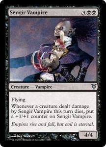 Magic: The Gathering Duel Decks: Sorin vs. Tibalt Single Card Black Uncommon #17 Sengir Vampire