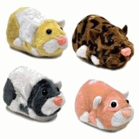 Zhu Zhu Pets Series 4 Set of 4 Hamster Toys [Cappuccino, Jinx, Peachy & Patches Ltd.]