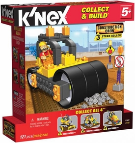 K'NEX Construction Crew Set #11563 Steam Roller