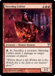 Magic: The Gathering Duel Decks: Sorin vs. Tibalt Single Card Red Uncommon #53 Skirsdag Cultist