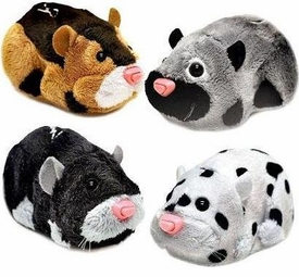 Zhu Zhu Pets Series 3 Set of 4 Hamster Toys [Moo, Rocky, Spottie & Tex]