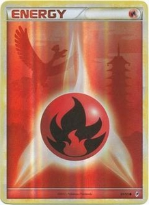 Pokemon Call of Legends Single Card Holo-Foil #89 Fire Energy