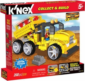 K'NEX Construction Crew Set #13526 Dump Truck