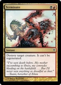 Magic: The Gathering Duel Decks: Sorin vs. Tibalt Single Card Multicolor Common #64 Terminate
