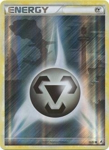 Pokemon Call of Legends Single Card Holo-Foil #95 Metal Energy