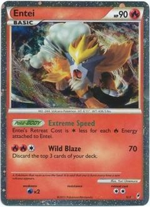 Pokemon Call of Legends Single Card Super Rare Holo #SL3 Entei