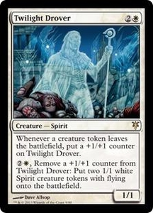Magic: The Gathering Duel Decks: Sorin vs. Tibalt Single Card White Rare #9 Twilight Drover