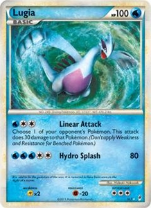 Pokemon Call of Legends Single Card Super Rare Holo #SL7 Lugia