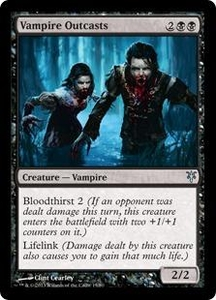 Magic: The Gathering Duel Decks: Sorin vs. Tibalt Single Card Black Uncommon #15 Vampire Outcasts