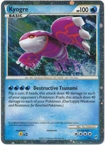 Pokemon Call of Legends Single Card Super Rare Holo #SL6 Kyogre