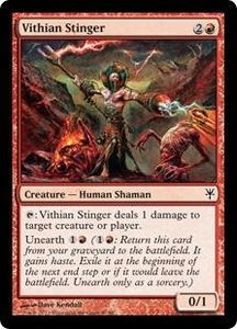 Magic: The Gathering Duel Decks: Sorin vs. Tibalt Single Card Red Common #47 Vithian Stinger