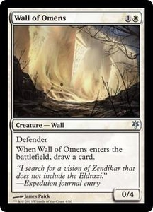 Magic: The Gathering Duel Decks: Sorin vs. Tibalt Single Card White Uncommon #4 Wall of Omens