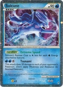 Pokemon Call of Legends Single Card Super Rare Holo #SL11 Suicune