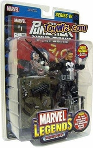 Marvel Legends Series 4 Action Figure Punisher