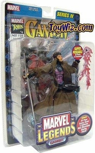 Marvel Legends Series 4 Action Figure Gambit Impossible to Find!
