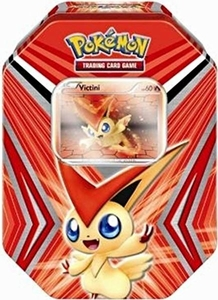 Pokemon Black & White Tin V For Victini [Includes Victini PVC Figure!]
