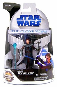 Star Wars 2008 Clone Wars Animated Action Figure No. 1 Anakin Skywalker