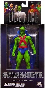 DC Direct Justice League Alex Ross Series 5 Action Figure Martian Manhunter