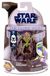 Star Wars Clone Wars Collection Action Figure No. 6 General Grievous [First Day of Issue]