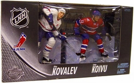 McFarlane Toys NHL Sports Picks Canada Exclusive Centennial Action Figure 2-Pack Saku Koivu & Alex Kovalev (Montreal Canadiens)