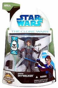Star Wars 2008 Clone Wars Animated Action Figure No. 1 Anakin Skywalker [First Day of Issue]