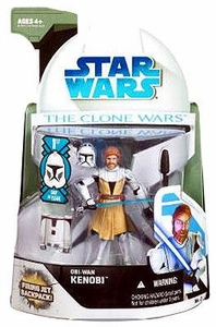 Star Wars 2008 Clone Wars Animated Action Figure No. 2 Obi-Wan Kenobi [First Day of Issue]