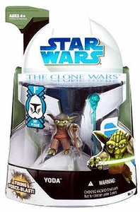 Star Wars 2008 Clone Wars Animated Action Figure No. 3 Yoda [First Day of Issue]
