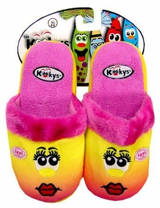 The Kookys Krew 15 Pair of Slippers Izzi [Large]