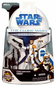 Star Wars 2008 Clone Wars Animated Action Figure No. 10 Clone Commander Cody