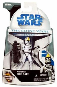 Star Wars 2008 Clone Wars Animated Action Figure No. 11 Oddball