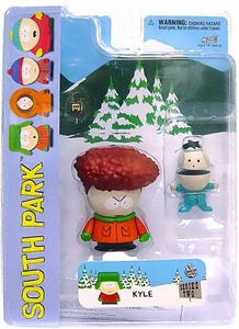 Mezco Toyz South Park Series 2 Action Figure Kyle with Afro Variant