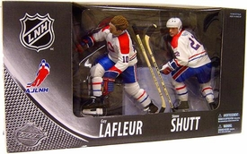 McFarlane Toys NHL Sports Picks Canada Exclusive Centennial Action Figure 2-Pack Guy LaFleur & Steve Shutt (Montreal Canadiens)