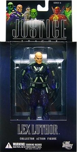 DC Direct Justice League Alex Ross Series 5 Action Figure Lex Luthor