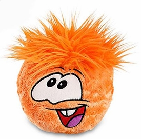 Disney Club Penguin 6 Inch DELUXE Plush Puffle Orange