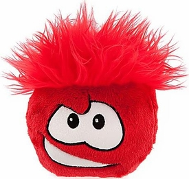 Disney Club Penguin 6 Inch DELUXE Plush Puffle Red [Includes Coin with Code!]