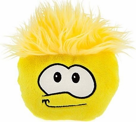 Disney Club Penguin 6 Inch DELUXE Plush Puffle Yellow [Includes Coin with Code!]