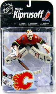 McFarlane Toys NHL Sports Picks Series 22 [2009 Wave 2] Action Figure Miikka Kiprusoff (Calgary Flames) Red Jersey