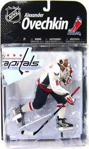 McFarlane Toys NHL Sports Picks Series 22 [2009 Wave 2] Action Figure Alexander Ovechkin (Washington Capitals) White Jersey