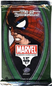 Marvel VS System Trading Card Game Web of Spider-Man Booster Pack [14 Cards]