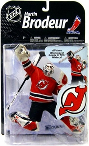 McFarlane Toys NHL Sports Picks Series 22 [2009 Wave 2] Action Figure Martin Brodeur (New Jersey Devils) Red Jersey