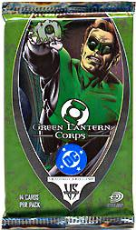 DC VS System Trading Card Game Green Lantern Corps Booster Pack [14 Cards]
