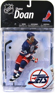 McFarlane Toys NHL Sports Picks Series 22 [2009 Wave 2] Action Figure Shane Doan (Winnipeg Jets) Retro Blue Jersey Collector Level Chase Only 1,996 Made!