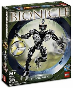 LEGO Bionicle Set #8761 Roodaka Very Badly Sun Damaged Box, Mint Contents!