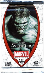 Marvel VS System Trading Card Game Avengers Booster Pack [14 Cards]