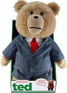 Ted Movie 16 Inch DELUXE Plush Figure with Sound & Moving Mouth Ted in Suit