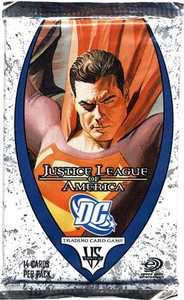 DC VS System Trading Card Game Justice League of America Booster Pack [14 Cards]