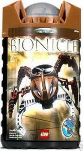 LEGO Bionicle VISORAK Figure #8745 Roporak [Brown]